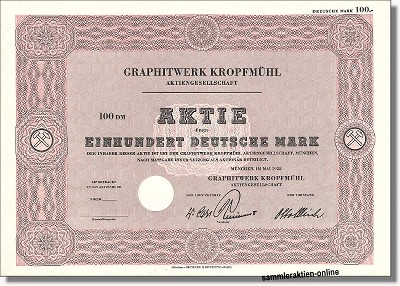 Graphitwerk Kropfmühl AG