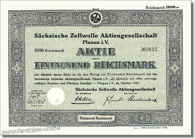 Sächsische Zellwolle Aktiengesellschaft