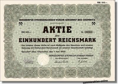 Gersdorfer Steinkohlenbau-Verein