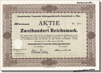 Dommitzscher Tonwerke AG