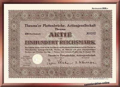 Theuma'er Plattenbrüche AG