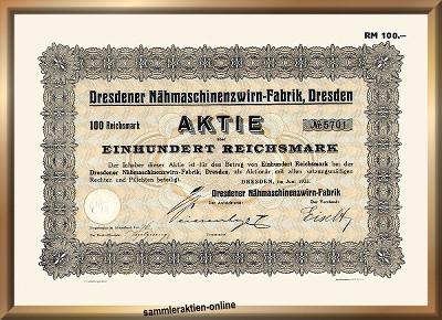 Dresdener Nähmaschinenzwirn-Fabrik