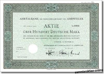 Ahrtalbank AG zu Ahrweiler