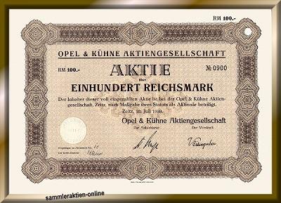 Opel & Kühne AG