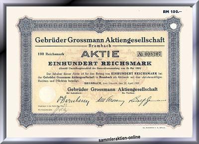 Gebrüder Grossmann AG