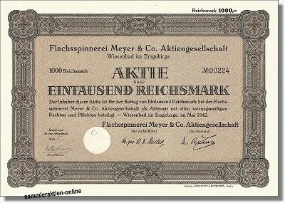 Flachsspinnerei Meyer & Co. AG