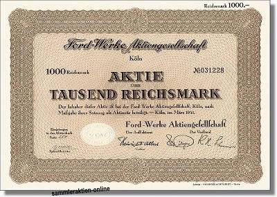 Ford Werke AG