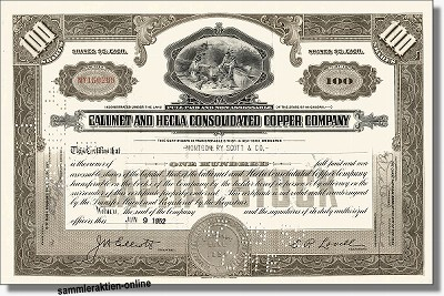 Calumet and Hecla Consolidated Copper Company