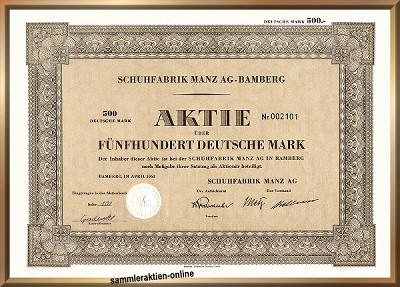 Schuhfabrik Manz AG - Mercedes Schuhe