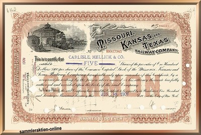 Missouri, Kansas & Texas Railway Company