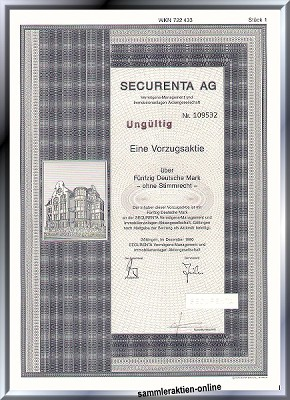 Securenta AG, Göttinger-Gruppe