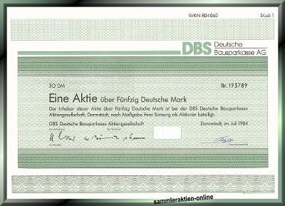 DBS Deutsche Bausparkasse AG