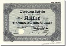 Würzburger Hofbräu Aktiengesellschaft