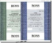 HUGO BOSS AG - 2 verschiedene Vorzugsaktien