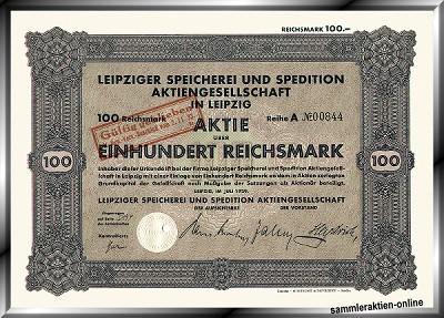 Leipziger Speicherei und Spedition AG
