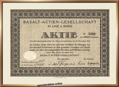 Basalt-Actien-Gesellschaft