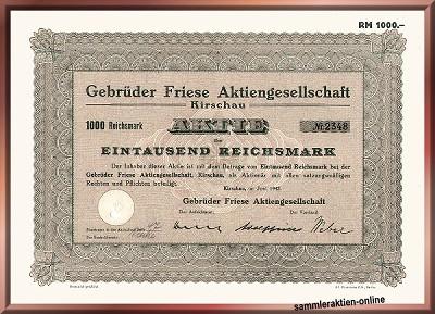 Gebrüder Friese AG