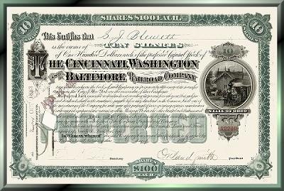 Cincinnati, Washington and Baltimore Railroad Company