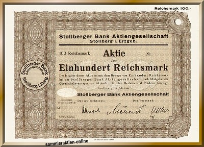 Stollberger Bank AG