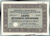 Spinnerei und Weberei AG Ebersbach