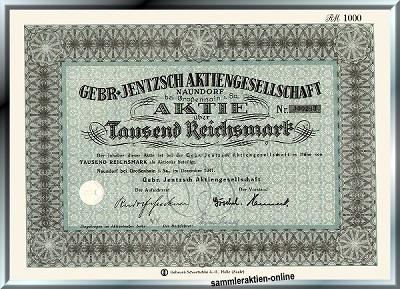Gebr. Jentzsch AG