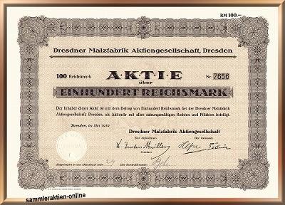 Dresdner Malzfabrik AG