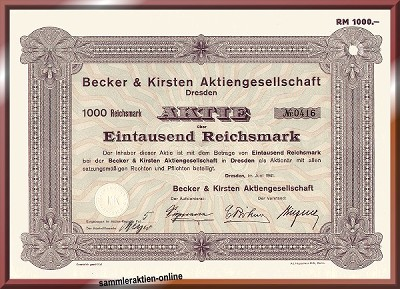 Becker & Kirsten AG