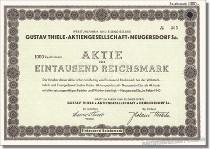 Webstuhlfabrik und Eisengießerei Gustav Thiele AG