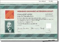 Hornbach-Baumarkt Aktiengesellschaft
