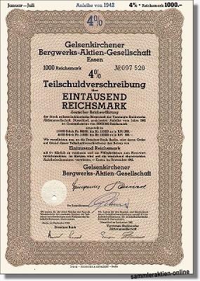 Gelsenkirchener Bergwerks-AG - VEBA