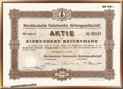 Norddeutsche Kabelwerke AG