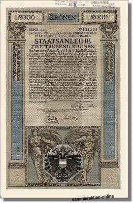 Österreichische Staatsanleihe, Kriegsanleihe