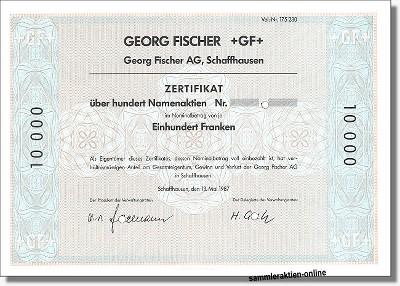 Georg Fischer AG - GF