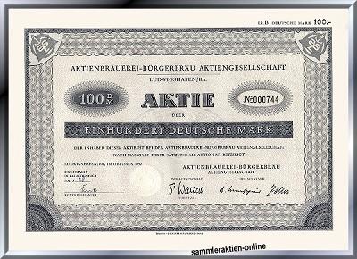 Aktienbrauerei-Bürgerbräu AG