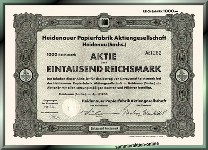 Heidenauer Papierfabrik Aktiengesellschaft