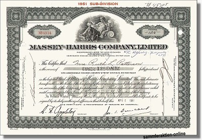 Massey-Harris Company Ltd.
