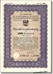 Königsberg, Goldanleihe