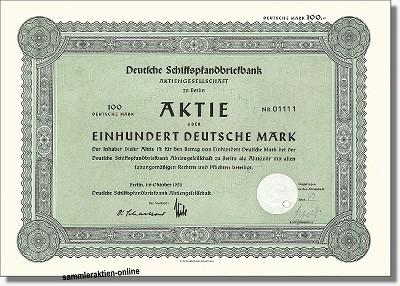 Deutsche Schiffspfandbriefbank Aktiengesellschaft