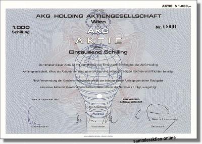 AKG Holding AG