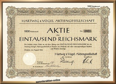 Hartwig & Vogel AG