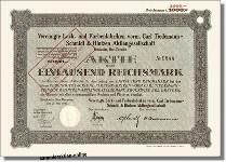 Vereinigte Lack- und Farbenfabriken vorm. Carl Tiedemann-Schmidt & Hintzen AG