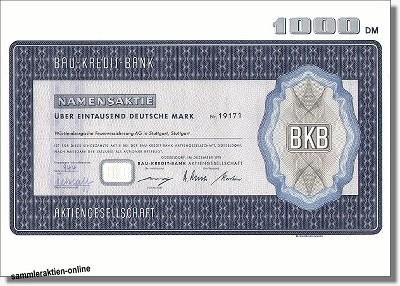 Bau-Kredit-Bank AG