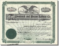 Woodstock and Blocton Railway Company