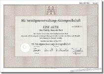MG-Vermögensverwaltungs-AG - Metallgesellschaft