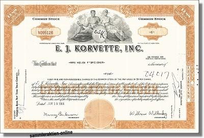 E. J. Korvette Inc.