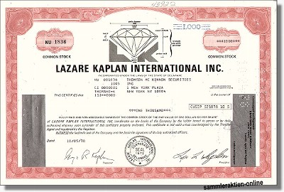 Lazare Kaplan International Inc.