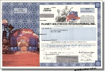 Planet Hollywood Inc.