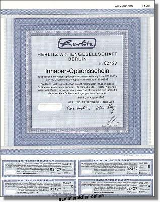 Herlitz Aktiengesellschaft, später Pelikan AG