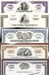 Geschenkset Wirtschaft und Industrie - USA Nr.13 - 5 div. Papiere
