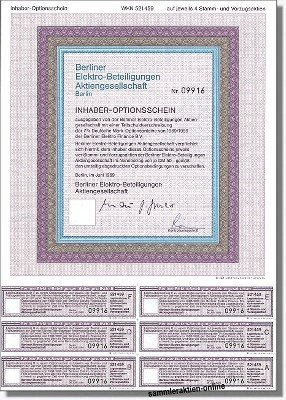 Berliner Elektro-Beteiligungen AG